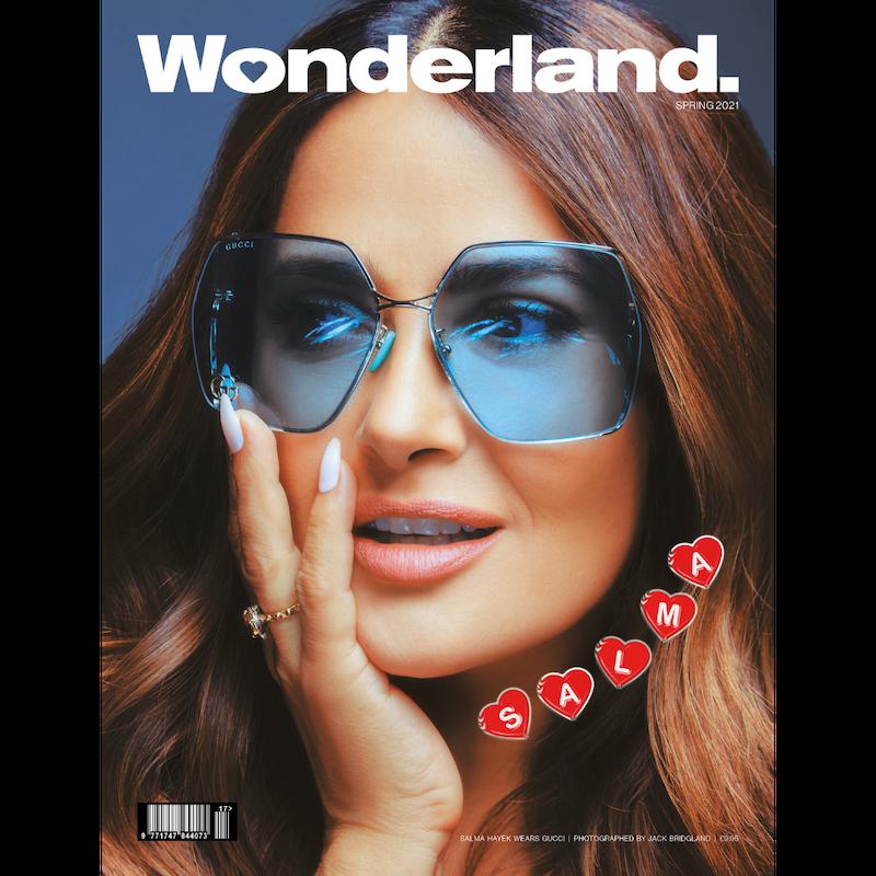 Salam Hayek cover for Wonderland