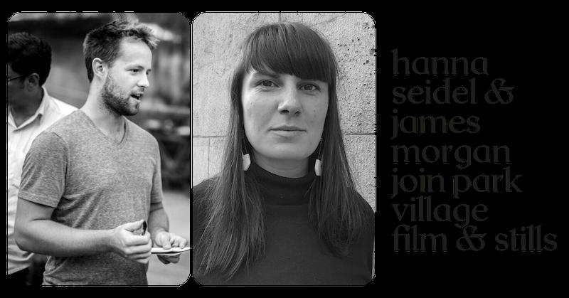 Hanna Seidel and James Morgan join Park Village film and stills