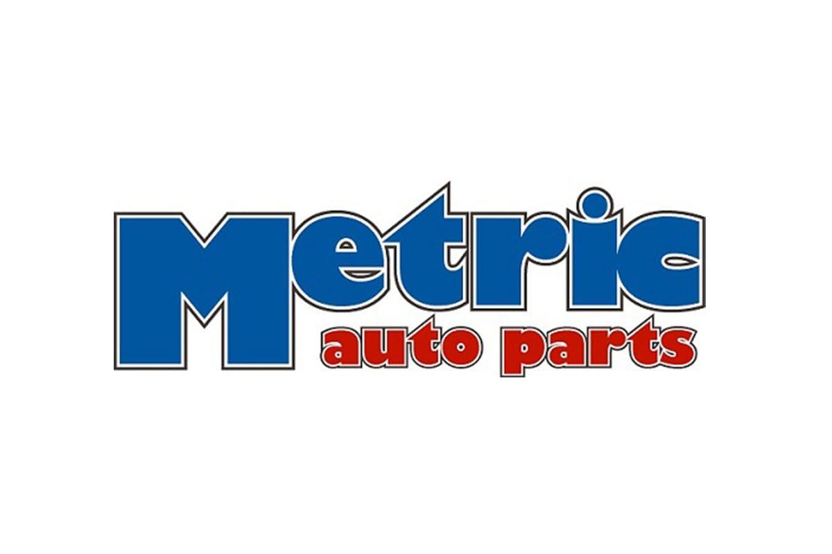 metric auto parts logo