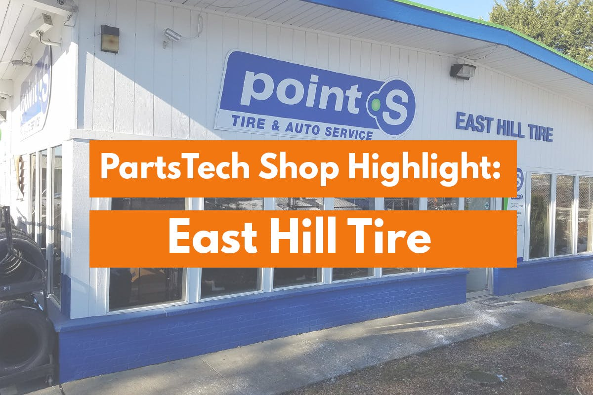 east hill tire building