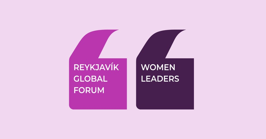Margrét Bjarnadóttir will participate in a Reykjavik Global Forum 2020 digital session