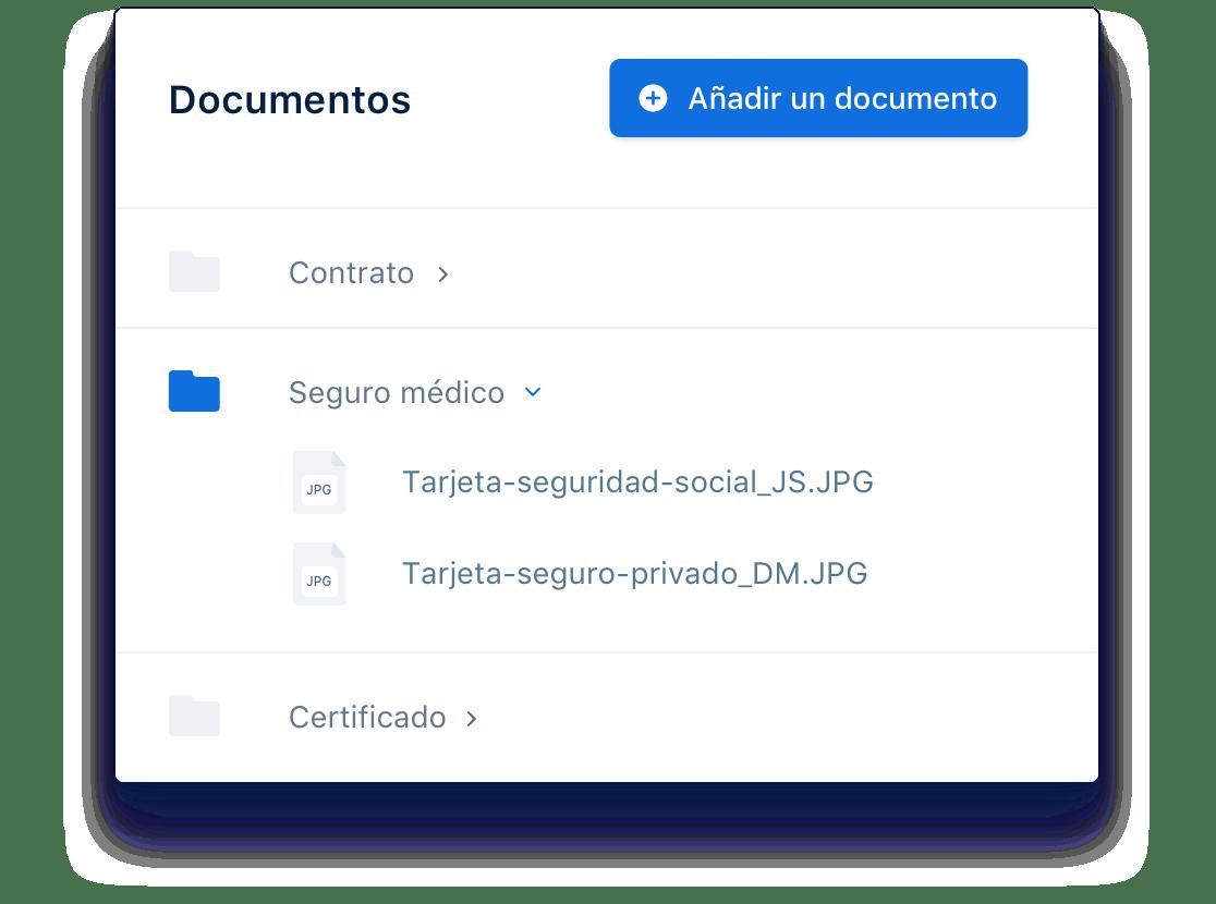 Centraliza toda la documentación en un mismo espacio