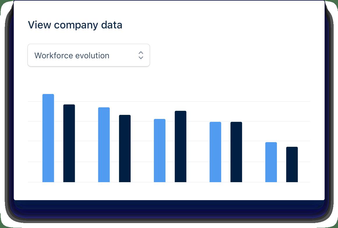 Gestisci la tua azienda tramite grafici e report
