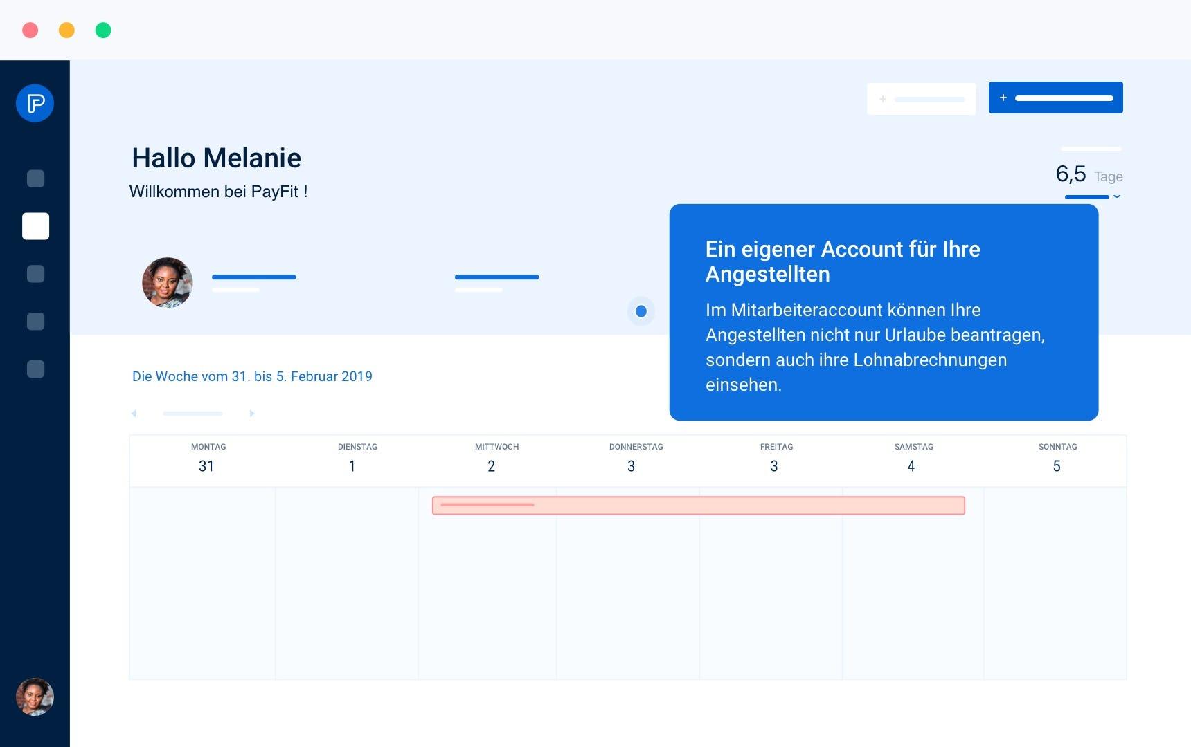 Mitarbeiter-Account