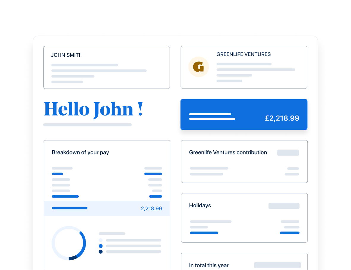 Payslips in real-time