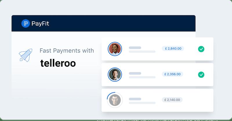 Salary Payment Telleroo