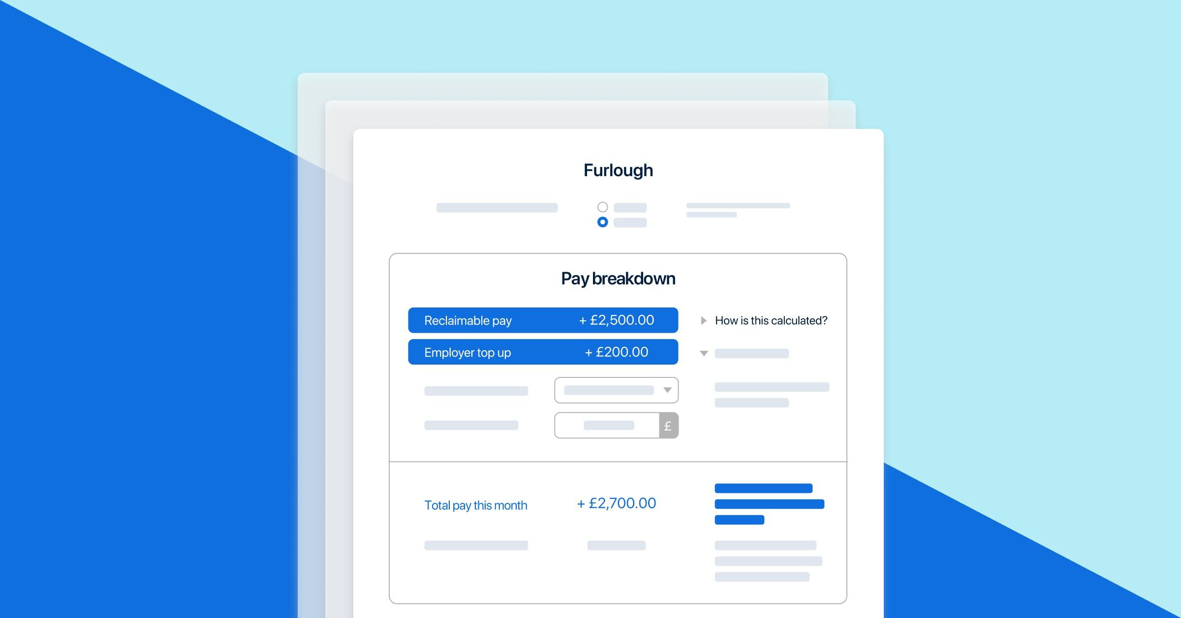 PayFit's furlough feature.