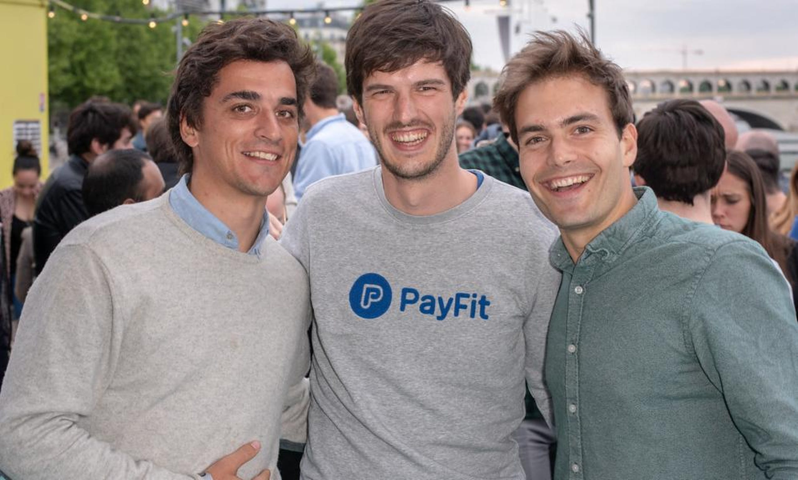 The PayFit founders.