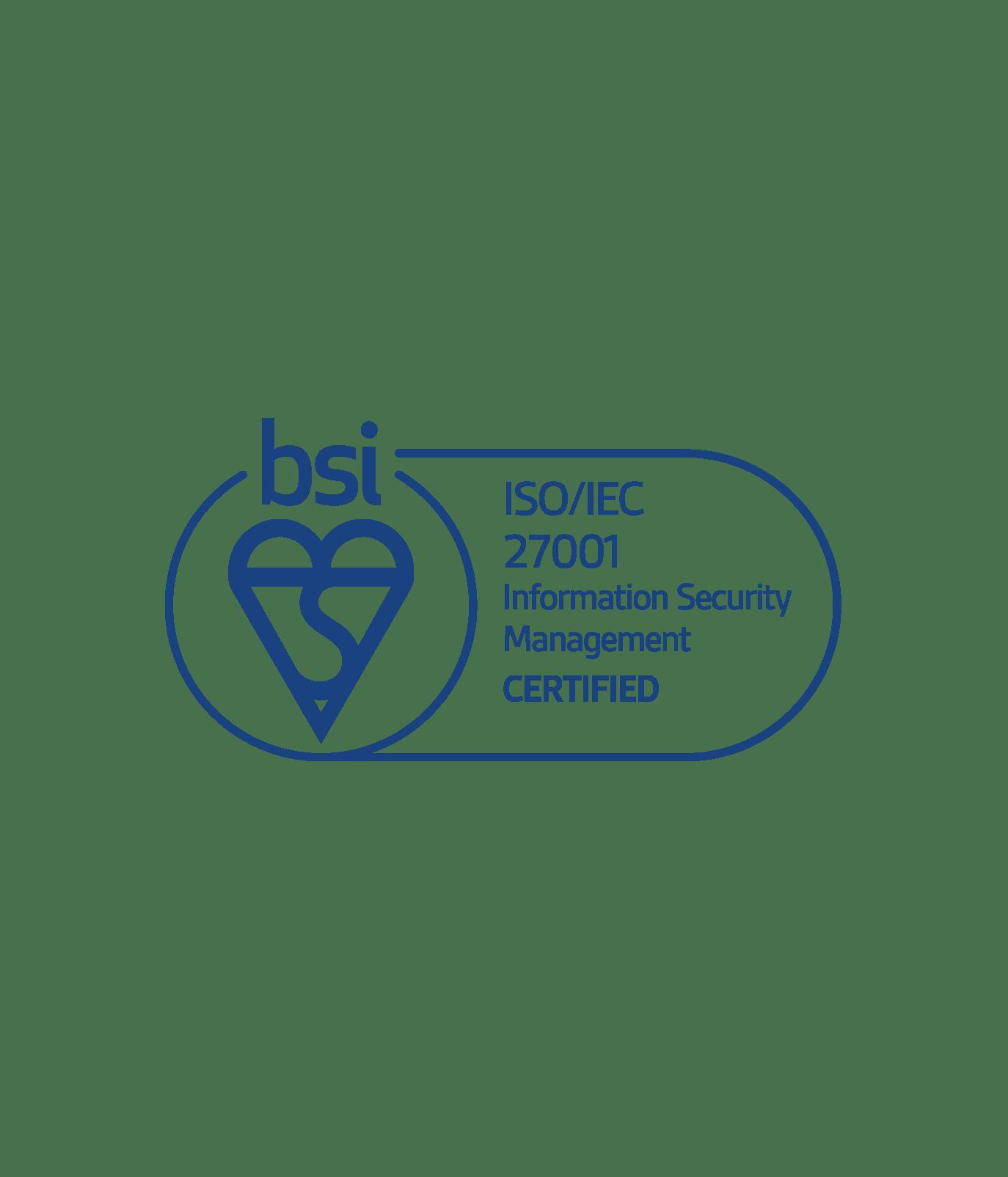 certification 27001
