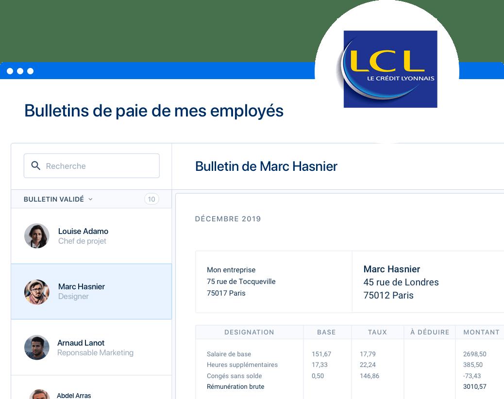 Avec LCL, profitez de 20% de réduction sur PayFit pendant 1 an !