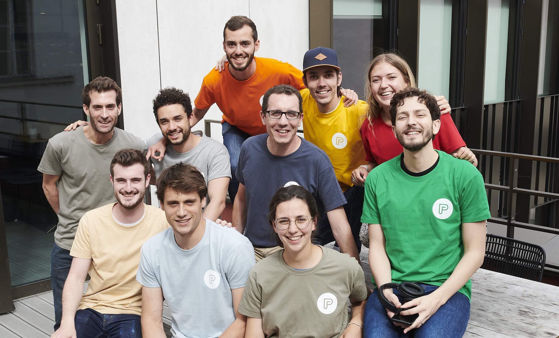 Plusieurs membres de la team PayFit France lors du PayFit Hackday 2019