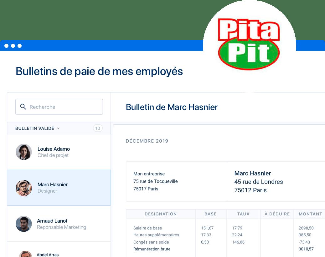 Franchisés Pita Pit, profitez de conditions avantageuses pour adopter PayFit !