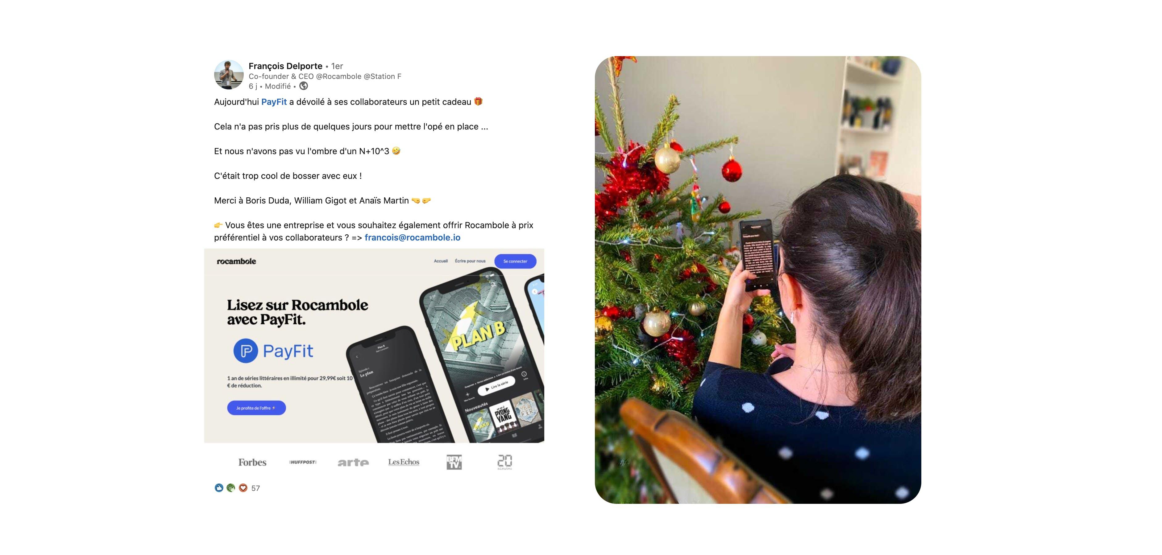 Léopoldine Hutin-Brisset, Squad Lead Customer Success chez PayFit découvre Rocambole, l'application de lecture nouvelle génération
