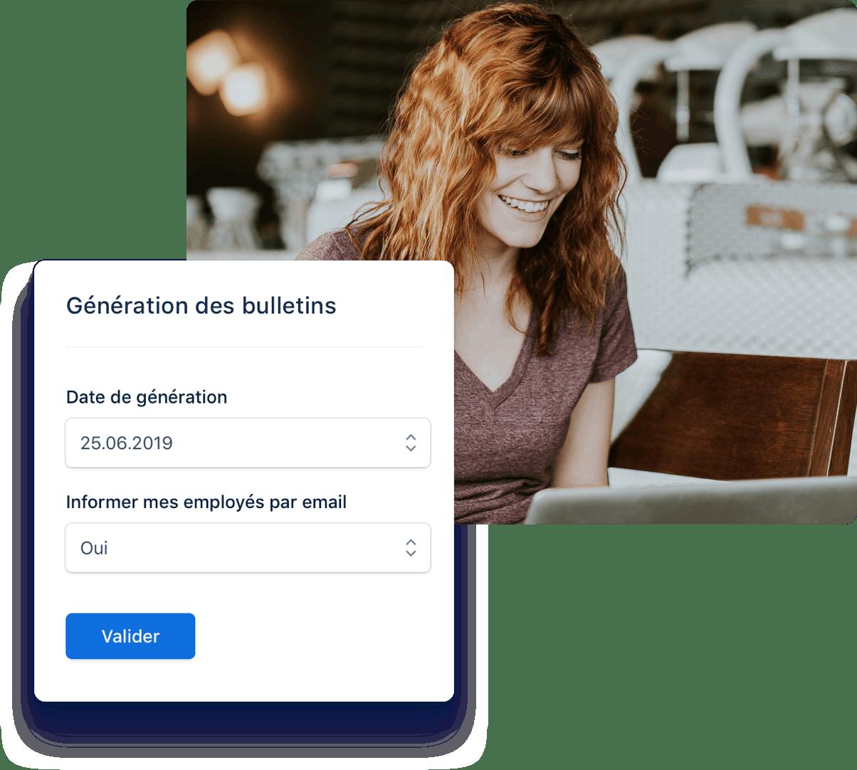 Automatisez la gestion de votre paie.