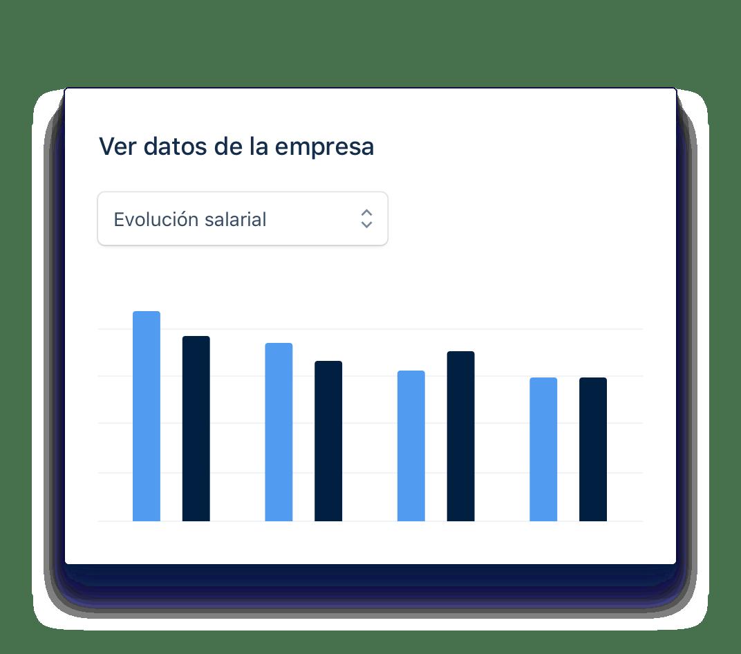 Crea gráficos con información relevante de tu empresa