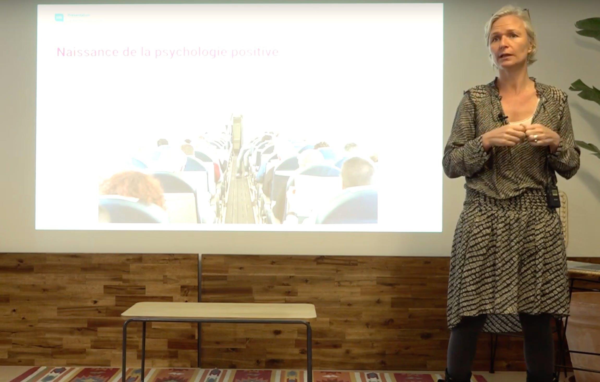 Amélie Motte lors du HR Stories #2