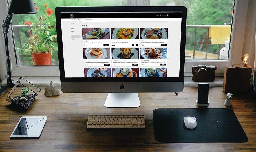 interface de commande en ligne TastyCloud