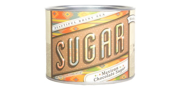 Beautiful Briny Sea Mexican Chocolate Sugar