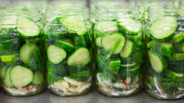 fresh jars of doux south sliced pickles