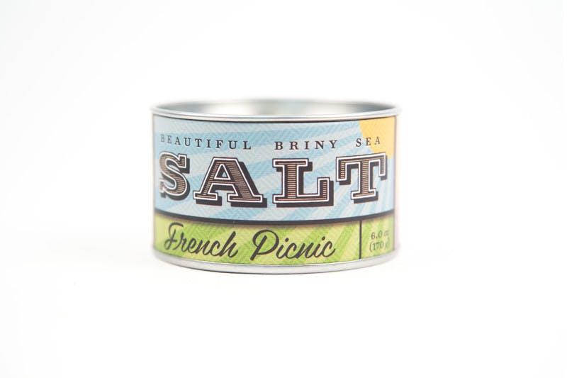Beautiful Briny Sea French Picnic Sea Salt