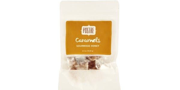 Postre 2.5 oz Sourwood Honey Caramels