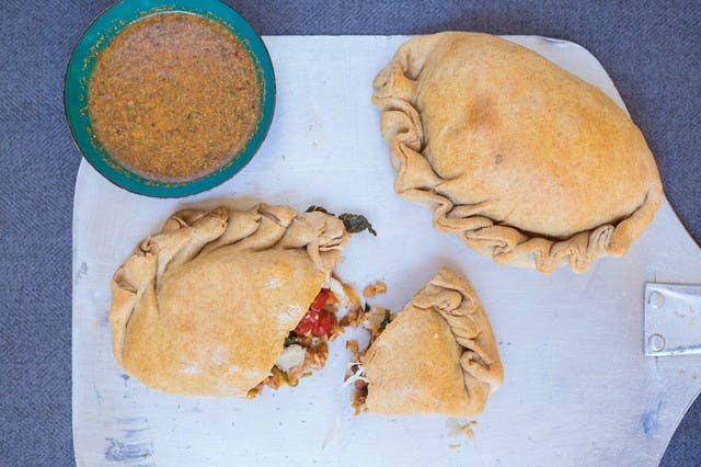 Superfood Veggie Calzone