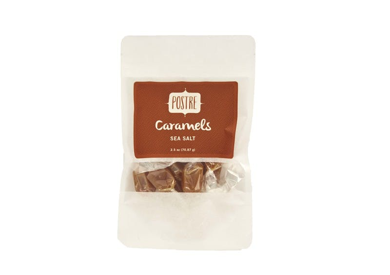 Postre 2.5 oz. Sea Salt Caramels