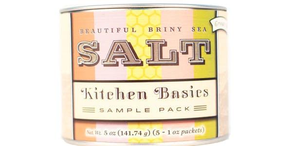 Beautiful Briny Sea Kitchen Basics Sea Salt Sampler