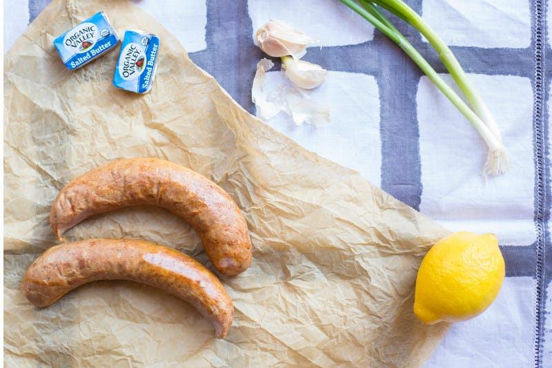 Two Pine Street Market 3 oz. Andouille Sausage Links