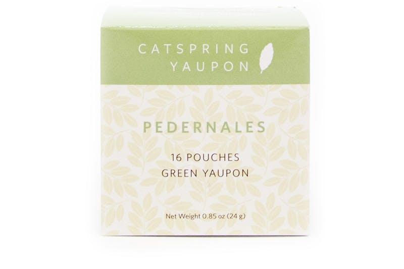 CatSpring Yaupon Pedernales Green Yaupon Tea, 16 pouches