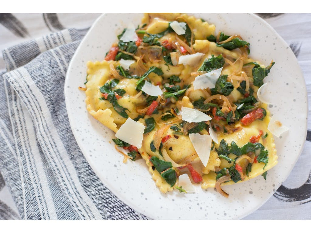 Alfresco Pasta Shrimp and Langoustine Ravioli