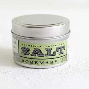 Beautiful Briny Sea Rosemary Sea Salt