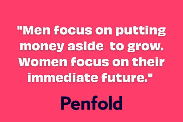 men women pension differences