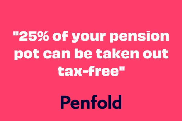 pension 25 tax free