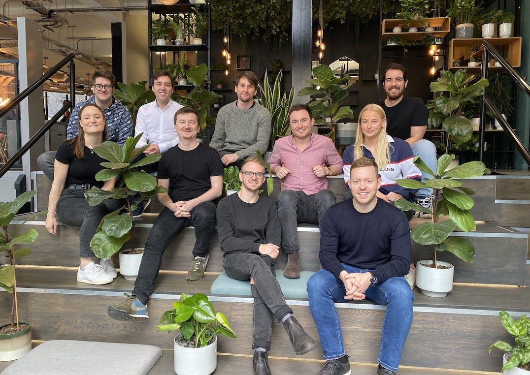 penfold team sat in London office