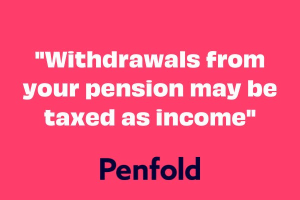 do you pay tax on pension
