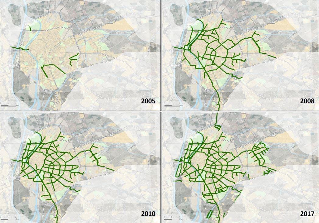 Sevilla Network Growth