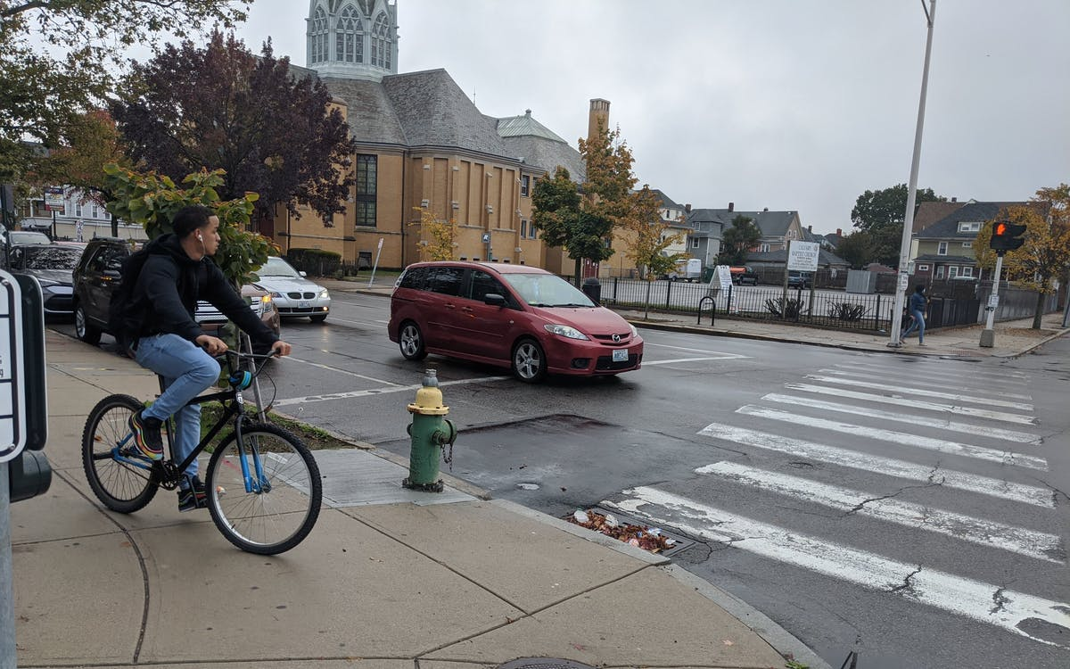 Photo courtesy of Providence Streets Coalition in Providence, Rhode Island.