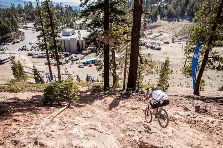 Electric mountain bike racing is growing in popularity. (Source: Bosch eBike Systems.)