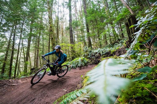 New policies are allowing electric mountain bikes more access to trail networks.