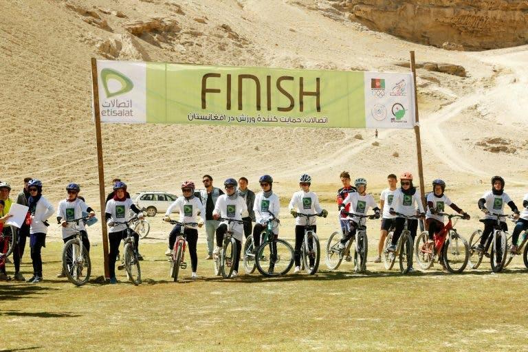 Twenty women competed in the Hindukush MTB Challenge.
