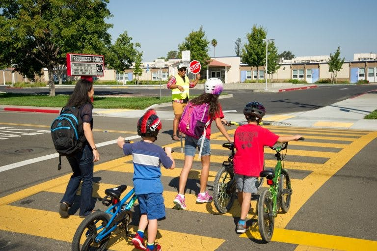 As public transportation options diminish, more families will consider biking to school.