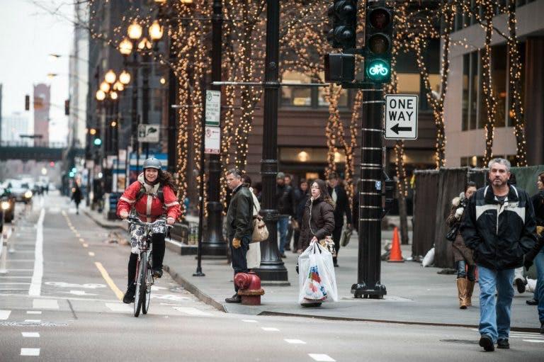Dearborn Street, Chicago.
