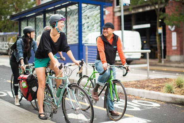 Advocating for solutions that can promote biking to work can reap major rewards.