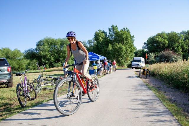 Biking to Work in Fort Collins