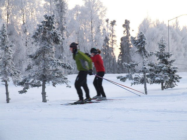 Cross-country skiing can build endurance.