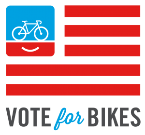 Vote for Bikes logo