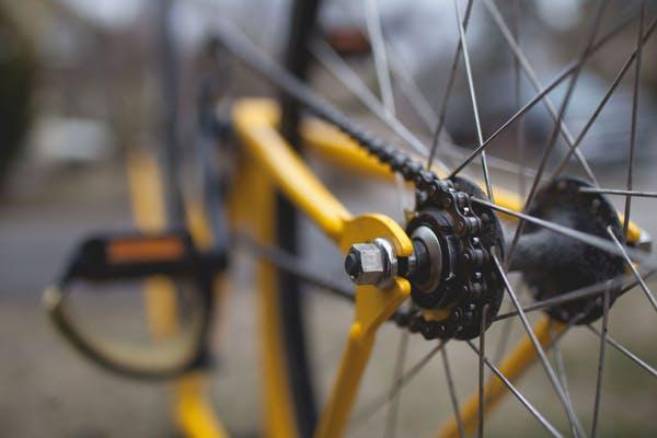 A clean bike is a happy bike.