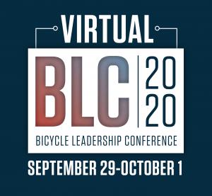2020 Virtual Bicycle Leadership Conference logo