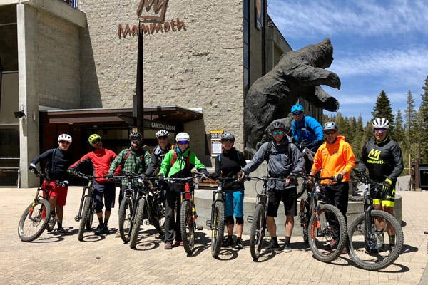 Electric mountain bikes are becoming a popular summer option at ski resorts.
